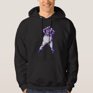 Mad Tweedle Dee Inked Purple Hoodie