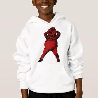 Mad Tweedle Dee Inked Red Fill Hoodie