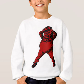Mad Tweedle Dee Inked Red Fill Sweatshirt