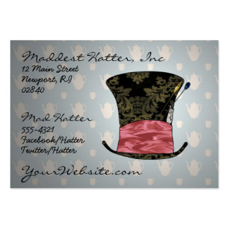 'Mad Victorian' Profile Card Large Business Card