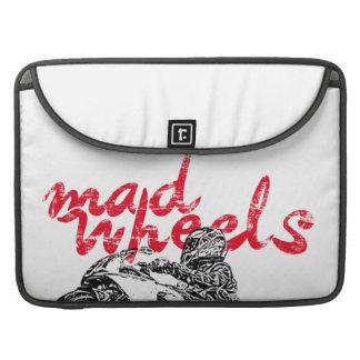 Mad wheels racing team MacBook pro sleeves