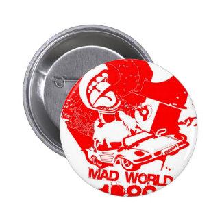 Mad World 1980's 2 Inch Round Button