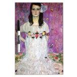Mada Primavesi by Gustav Klimt Dry Erase Whiteboards