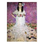 Mada Primavesi by Gustav Klimt Postcards