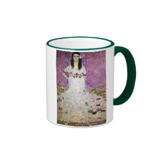 Mada Primavesi by Gustav Klimt Ringer Mug