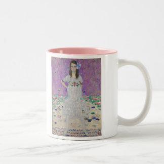 Mäda Primavesi  - Gustav Klimt Two-Tone Coffee Mug