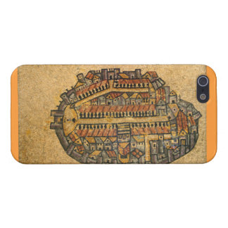Madaba Mosaic Map Of Jerusalem iPhone SE/5/5s Cover