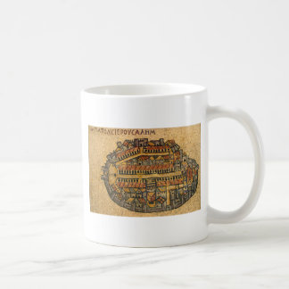 Madaba Mosaic Map Of Jerusalem Mug