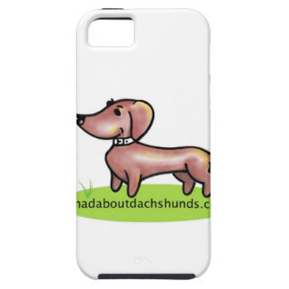 "madaboutdachshunds ""M.A.D "" iPhone 5 Case-Mate Protectores"