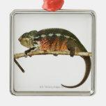 Madagascar 2 adorno navideño cuadrado de metal