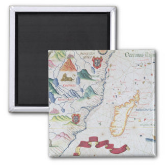 Madagascar and East African Coastline Magnet