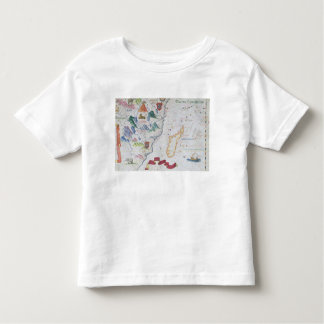 Madagascar and East African Coastline Toddler T-shirt