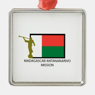 MADAGASCAR ANTANANARIVO MISSION LDS CTR METAL ORNAMENT