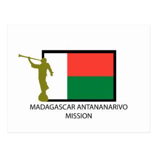 MADAGASCAR ANTANANARIVO MISSION LDS CTR POSTCARD