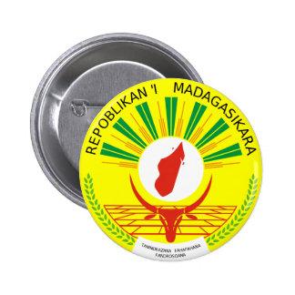 Madagascar Coat Of Arms Button