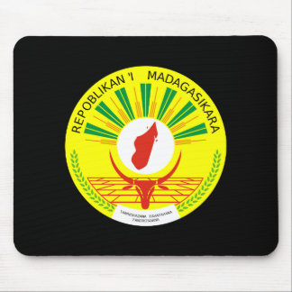 Madagascar Coat of Arms Mouse Pad