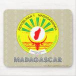 Madagascar Coat of Arms Mousepads