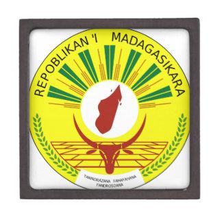 Madagascar Coat of Arms Premium Gift Box
