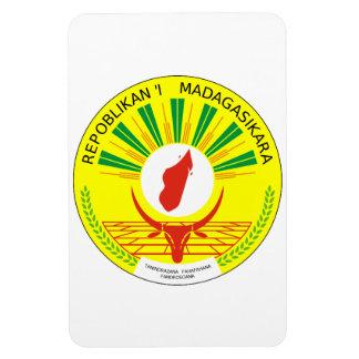 Madagascar Coat Of Arms Rectangular Photo Magnet