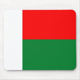 Madagascar country long flag nation symbol republi mouse pad