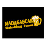 Madagascar Drinking Team Postcard