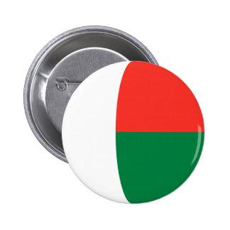 Madagascar Fisheye Flag Button