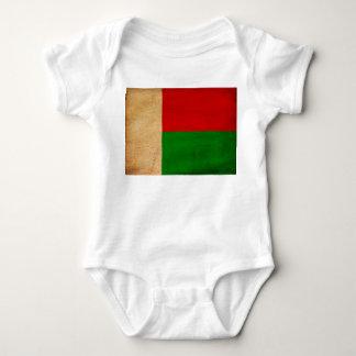 Madagascar Flag Baby Bodysuit