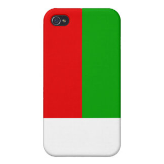 Madagascar Flag Covers For iPhone 4