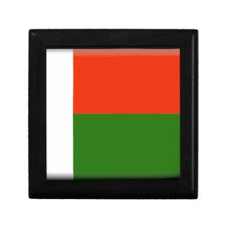 Madagascar Flag Jewelry Boxes