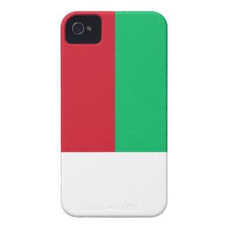 Madagascar Flag iPhone 4 Case