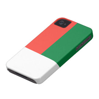 Madagascar Flag iPhone 4 Case-Mate Case