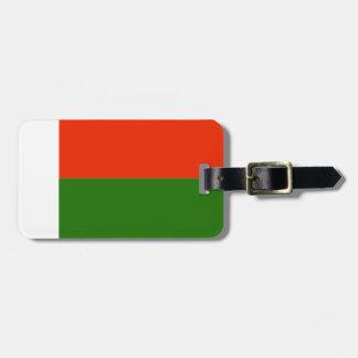 Madagascar Flag Bag Tags