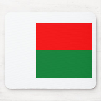 Madagascar flag mouse pad