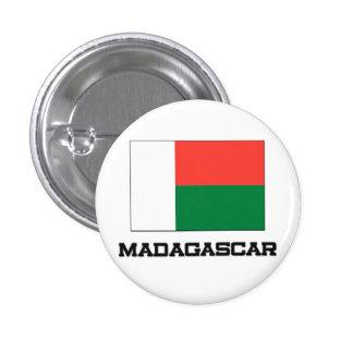 Madagascar Flag Pinback Button