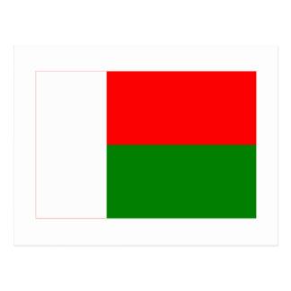 Madagascar Flag Postcards Zazzle - Madagascar flag