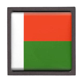 Madagascar Flag Premium Keepsake Box