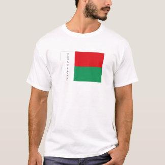 Madagascar flag souvenir tshirt