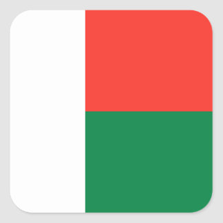 Madagascar Flag Sticker