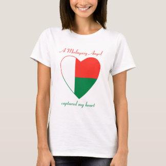 Madagascar Flag Sweetheart T-Shirt