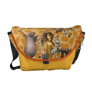 Madagascar Friends Courier Bag