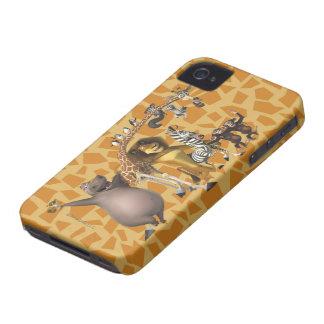 Madagascar Friends iPhone 4 Case-Mate Case