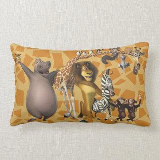Madagascar Friends Lumbar Pillow