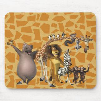 Madagascar Friends Mouse Pad