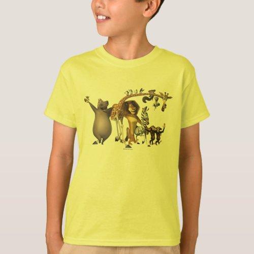Madagascar Friends T_Shirt