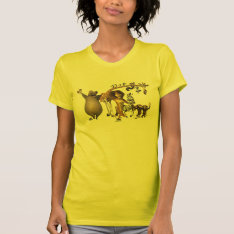 Madagascar Friends T-shirt at Zazzle