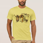 Madagascar Friends T-shirt at Zazzle