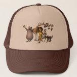 Madagascar Friends Trucker Hat at Zazzle