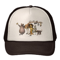 Madagascar Friends Trucker Hat at Zazzle