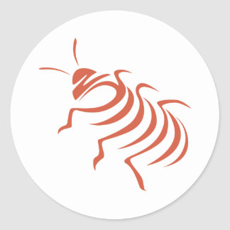 Madagascar Hissing Cockroach Classic Round Sticker