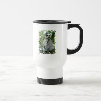 Madagascar Lemur Plastic Travel Mug